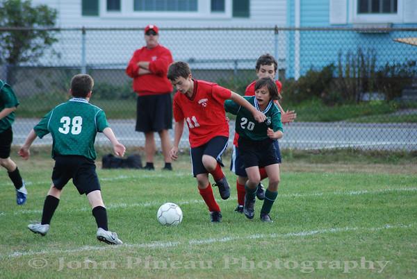 2009-09-30 Boys Soccer - Memorial vs Mahoney