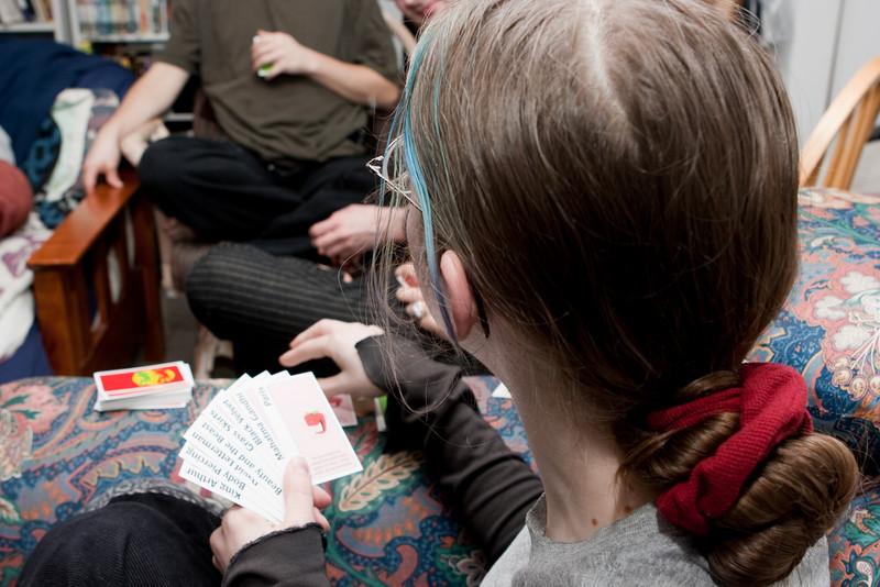Tashari judging cards.