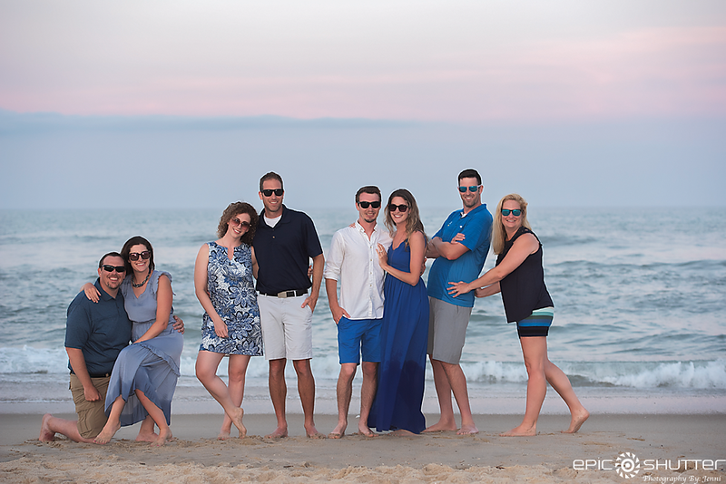 Waves, North Carolina, Family Portraits, Epic Shutter