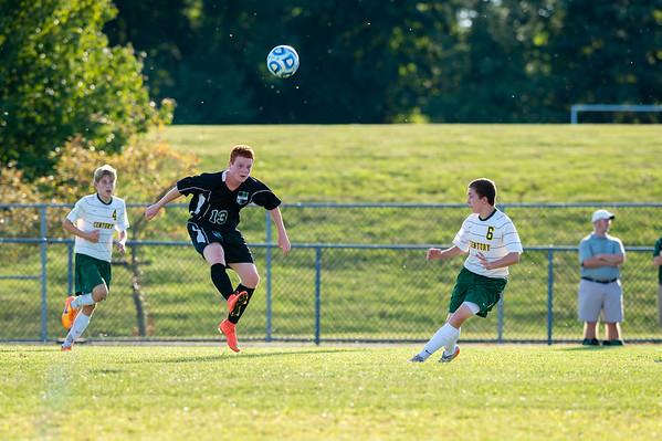 Atholton vs Century High - Atholton Boys JV Soccer 9/15/15