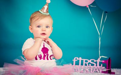 Freya's First Birthday