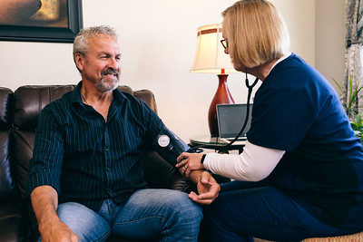 Franciscan Health, home care shoot