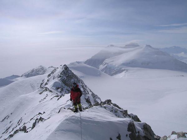 Mt. Vinson, Antarctica December 2006