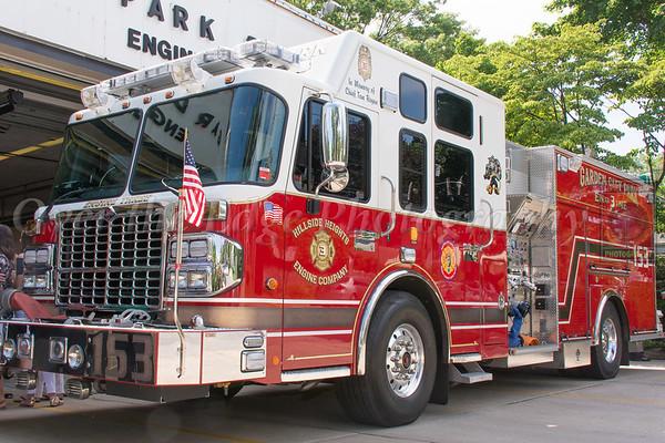 Garden City Park Dedication of Engine 153 06/14/2015