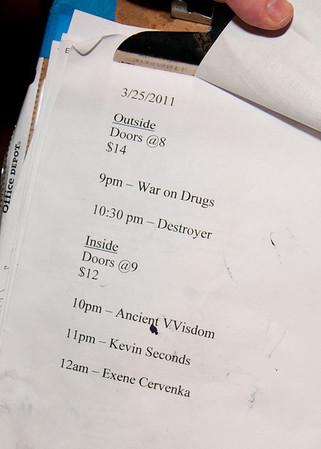 03/26/11 - Exene Cervenka at the Mohawk
