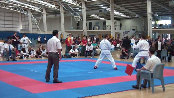 Mens Team Kumite 3rd Place