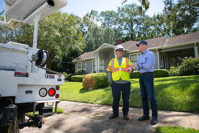 9-5-2016 Visit with Utility Linemen & FDOT Workers