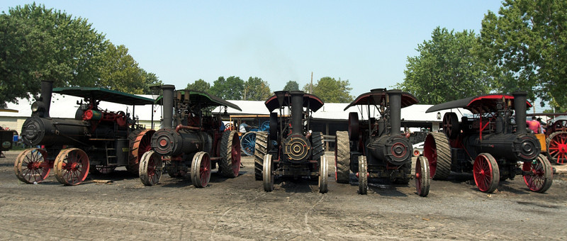 Rough & Tumble Steam Engine Tractors, Tractor Pulls