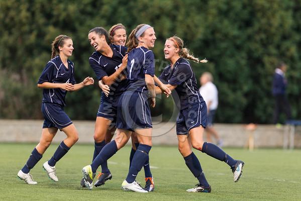 Wheaton College Women's Soccer vs Principia, September 1, 2012
