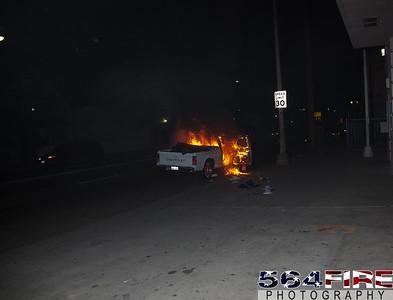 LAFD -  Auto Fire - 1-13-12