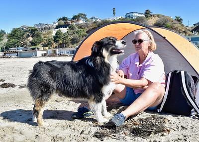 Brooks & Gal At Platforms Beach-9/27/17