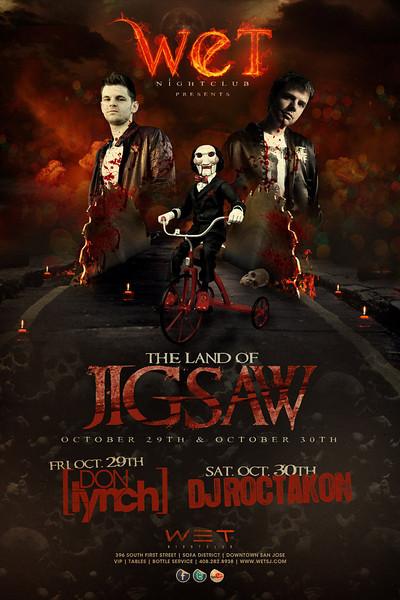 10/29 [Land of the jigsaw@WET]