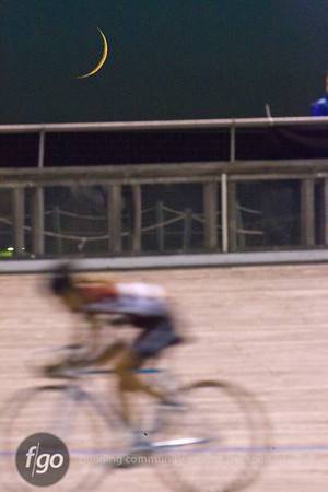 Thursday NIght Lights Velodrome Bike Racing at National Sports Center 6-21-12