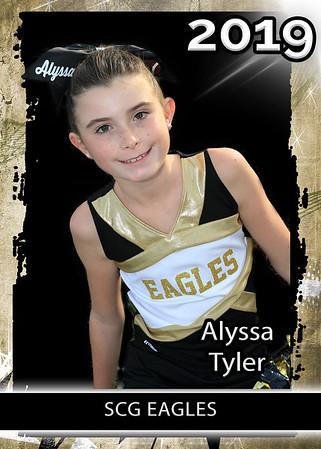 2019 11/12 Cheerleader Eagles
