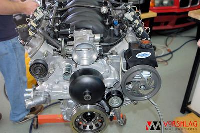New LS2 Motor Install into E36 Alpha Car