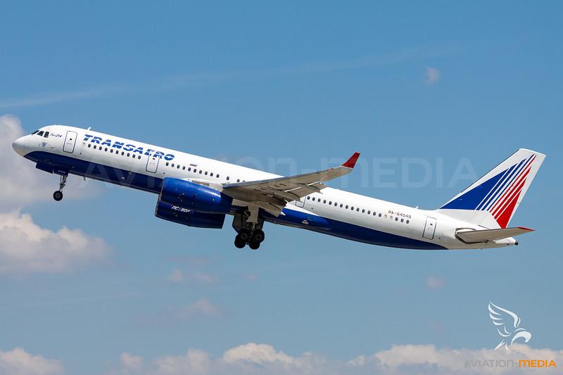 Transaero Airlines / Tupolev Tu-214 / RA-64549