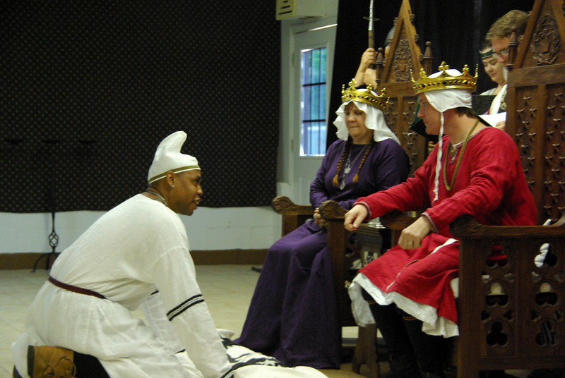 Kahlil brings dire tidings to their Majesties