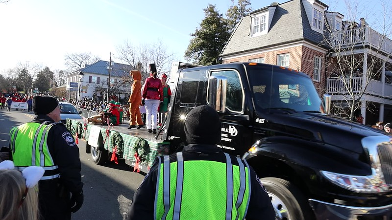 Christmas in Middleburg 2019 Parade.