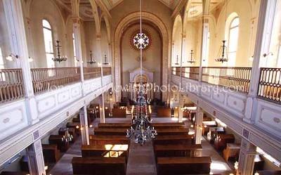 SWITZERLAND, Lengnau. Lengnau Synagogue (consecrated, 1847). (2006)