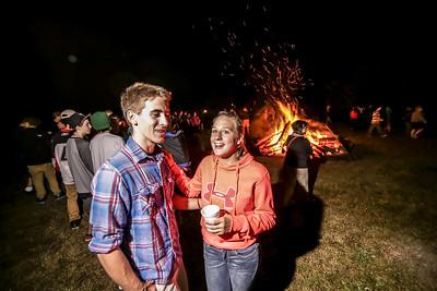 2014 Homecoming Bonfire
