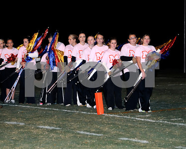 Marshall County Marching Marshals Band Performance October 21, 2011. Half Time Of The Marshall County vs Daviess County Football Game.