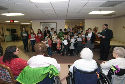 HOPE/JOY Christmas Caroling - December 7, 2012