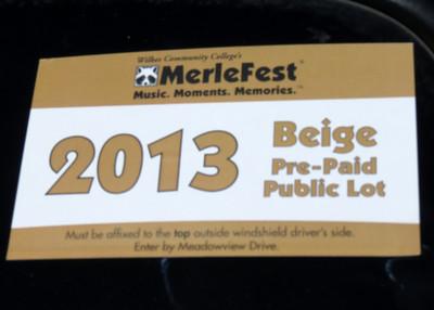 Merlefest 2013