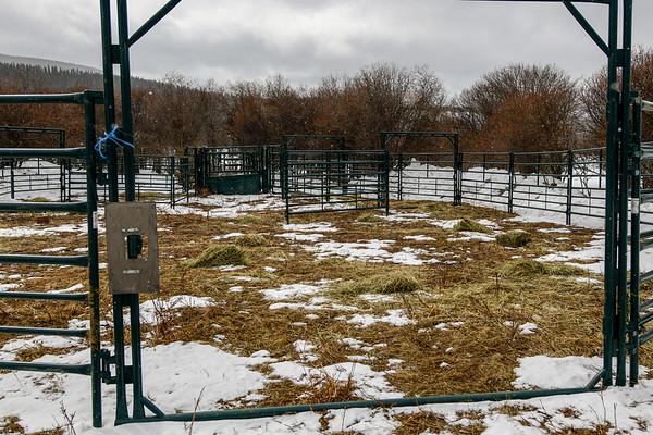 3-28-18 Wild Horse Capture Corral - Helipad