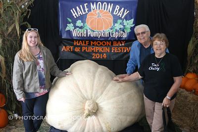 Sun a.m. - Giant Pumpkin Photos: Oct 19, 2014