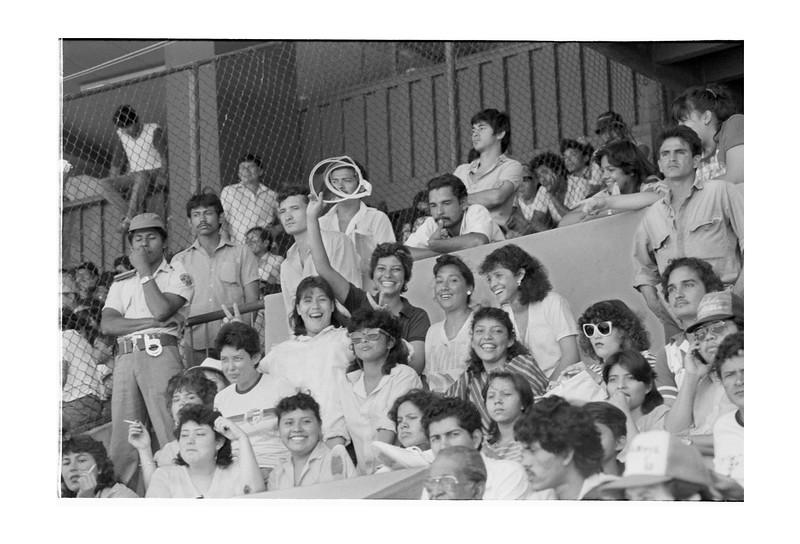 Baseball Fans in Nicaragua