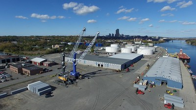 Port of Albany aerials