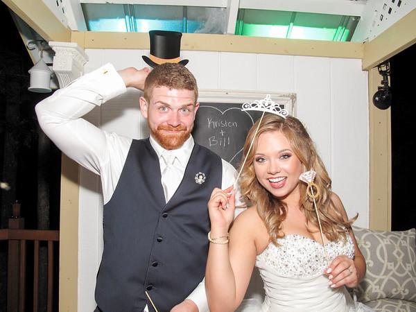 Kristen & William Wedding Photo Booth Hidden Video