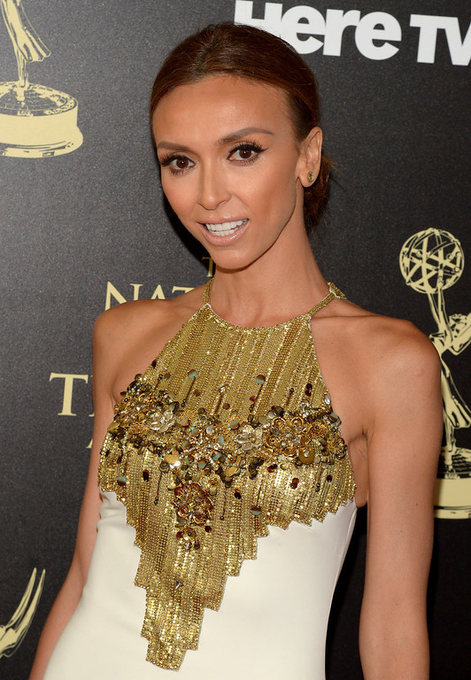 . TV personality Giuliana Rancic attends The 41st Annual Daytime Emmy Awards at The Beverly Hilton Hotel on June 22, 2014 in Beverly Hills, California.  (Photo by Jason Kempin/Getty Images)