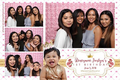 Renezmae's 1st Birthday (Mini Open Air Photo Booth 2)