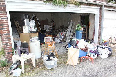 Evicted Family Living in Garage, Cottage Ave, Tamaqua (9-29-2012)