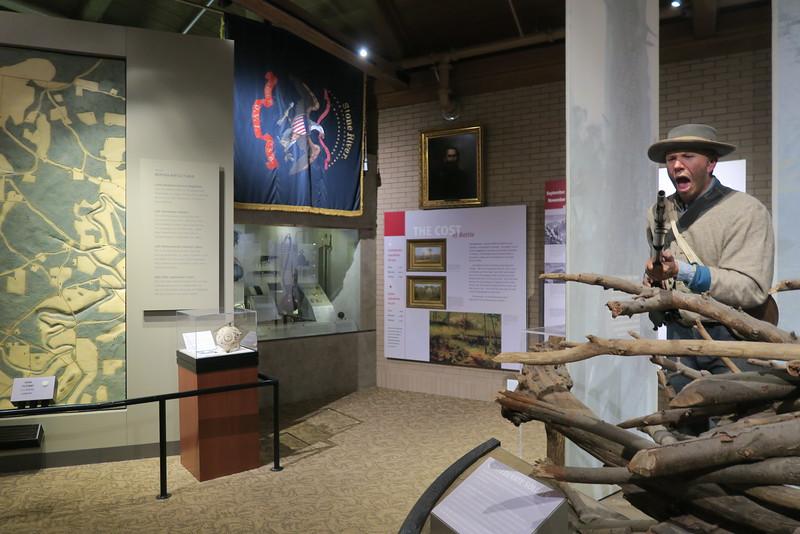 Chickamauga Visitor Center - Interpretive Displays