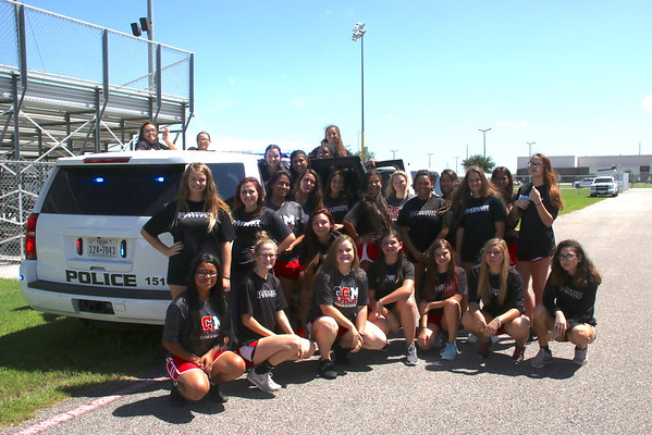 GCM softball team shows some Love to the BPD
