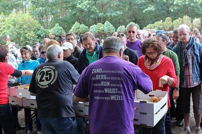 Zandbergrun 2012 - Tussenstop