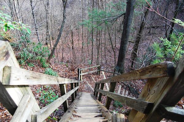 Journal Site 217: Twin Arches, Big South Fork, Oneida, TN - Nov. 26, 2011