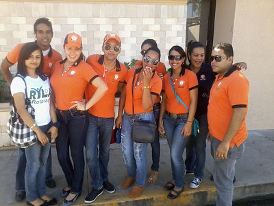 CHALK4PEACE 2013 Rotaract de Moca y Villa Tapia