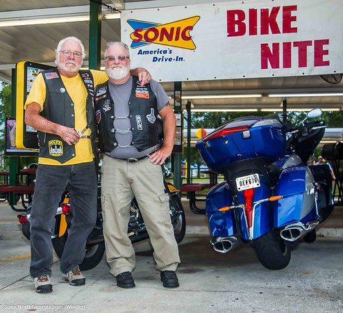 Bike Night Sonic Drive-In Winder GA August 2019