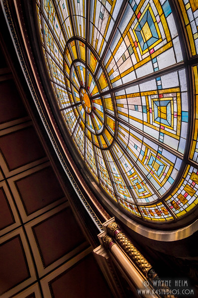 Stain Glass . Photography by Wayne Heim