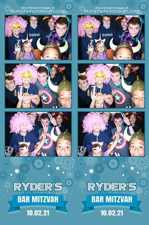 10/2/21 - Ryder's Bar Mitzvah