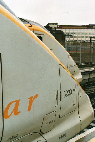 Eurostar to Paris 17-03-2001