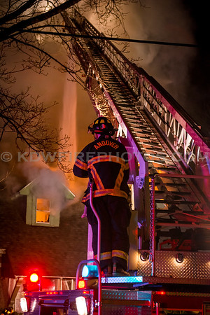 Andover, MA 2nd Alarm - 36 Morton St - 3/27/16