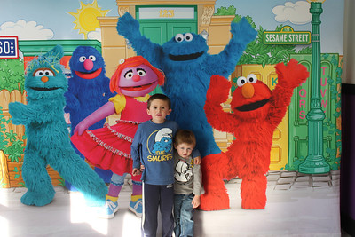 Elmo & Sesame Street Show - Shaw Air Force Base