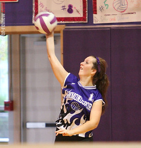 Hammondsport Volleyball 10-3-12