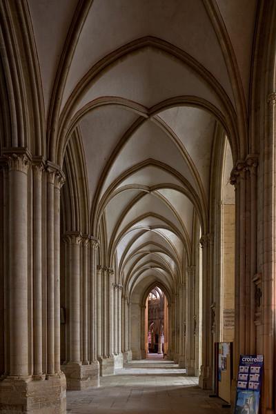 Coutances, Notre-Dame Cathedral South Aisle