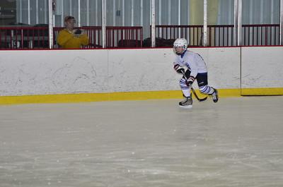 03-09 Blue-White hockey