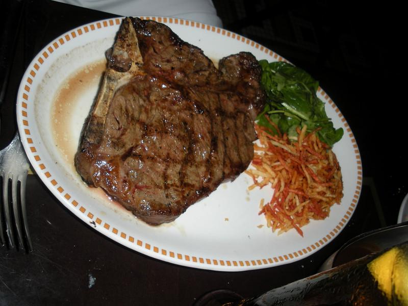 Ba's t-bone steak